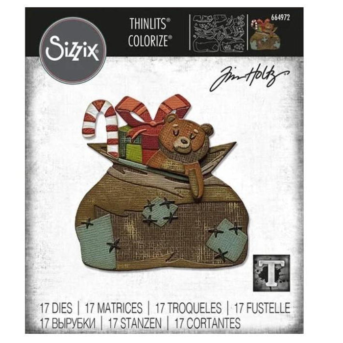 Sizzix Thinlits Dies By Tim Holtz: Toyland, Colorize (664972)-Only One Life Creations