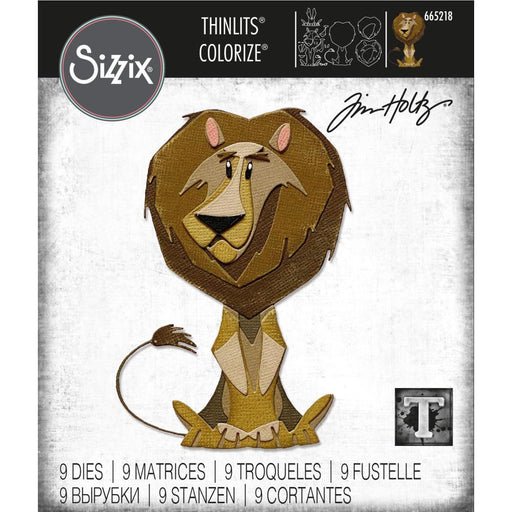 Sizzix Thinlits Dies: Harrison Colorize, by Tim Holtz (665218)-Only One Life Creations