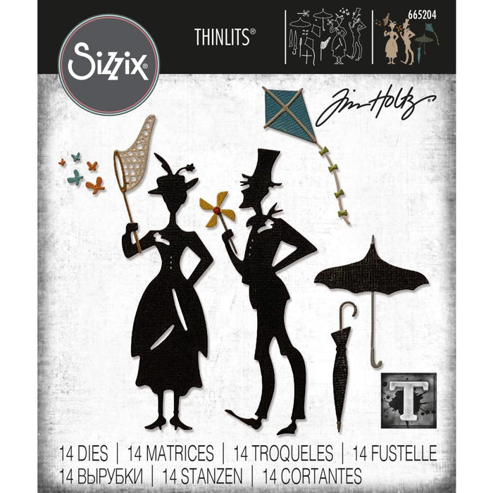 Sizzix Thinlits Dies: The Park, by Tim Holtz (665204)-Only One Life Creations