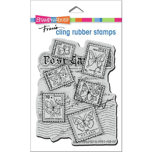 Stampendous Cling Stamps: Butterfly Postage (CRR334)-Only One Life Creations