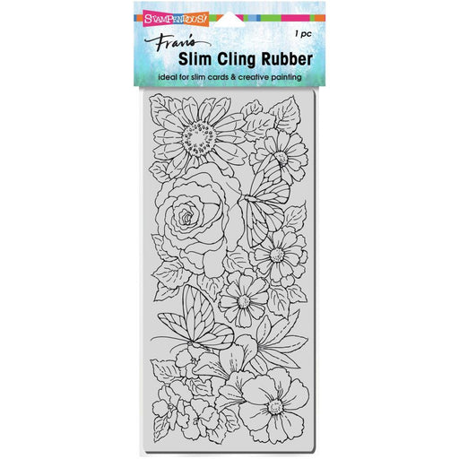 Stampendous Cling Stamps: Slim Floral Wings (CSL02)-Only One Life Creations