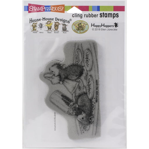 Stampendous House Mouse Cling Stamp: Cookie Sprinkles (HMCP137)-Only One Life Creations