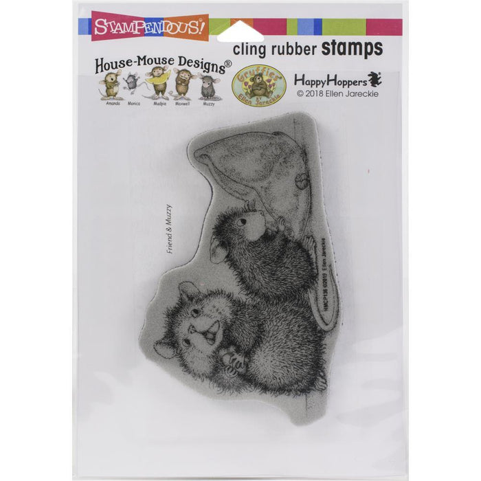 Stampendous House Mouse Cling Stamp: Missing Treats (HMCP136)-Only One Life Creations