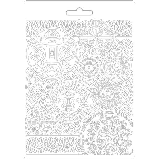 "Stamperia Amazonia 8.5""x11.5"" Soft Maxi Mould: Texture (K3PTA573)-Only One Life Creations"