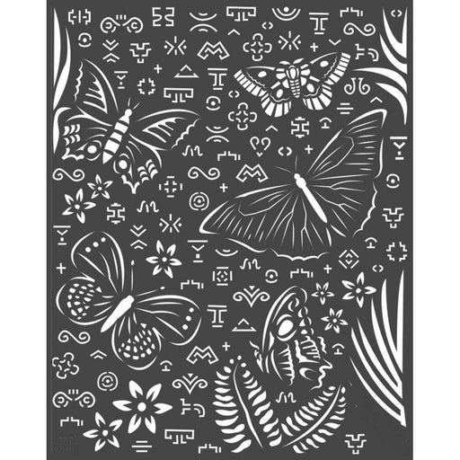 "Stamperia Amazonia 8""x10"" Stencil: Butterflies (KSTD064)-Only One Life Creations"