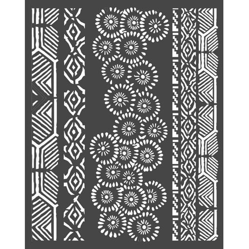 "Stamperia Amazonia 8""x10"" Stencil: Tribals (KSTD063)-Only One Life Creations"