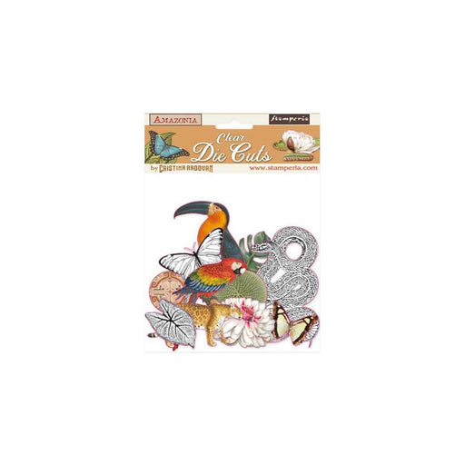 Stamperia Amazonia Clear Die Cuts (DFLDCP03)-Only One Life Creations