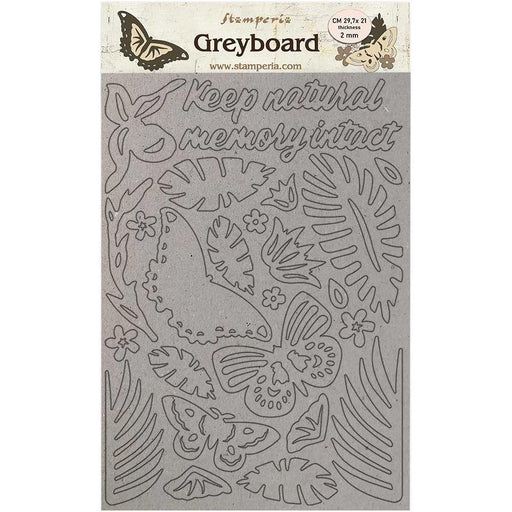 Stamperia Amazonia Greyboard Cut Outs: Butterflies (LSPDA422)-Only One Life Creations