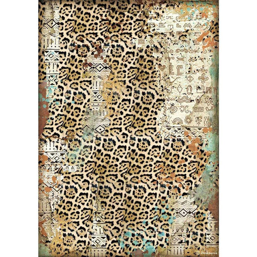 Stamperia Amazonia Rice Paper Sheet: Texture (DFSA4534)-Only One Life Creations