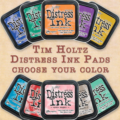 "Tim Holtz 3""x3"" Distress Ink Pads, Choose Your Color-Only One Life Creations"