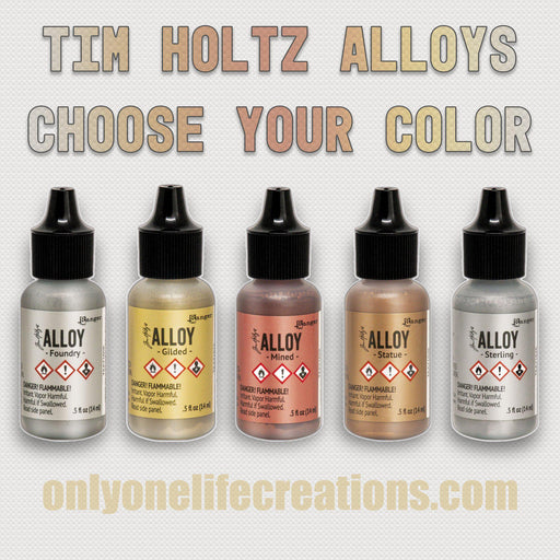Tim Holtz Alloys, Choose Your Color (January 2020)-Only One Life Creations