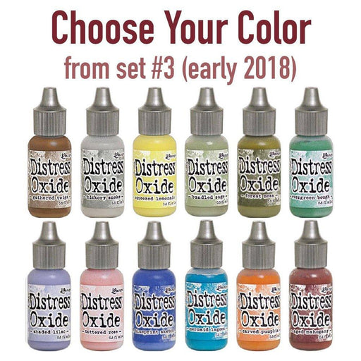 Tim Holtz Distress Oxide Reinkers, Choose Your Color from set #3 (early 2018)-Only One Life Creations