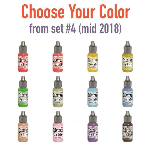 Tim Holtz Distress Oxide Reinkers, Choose Your Color from set #4 (mid 2018)-Only One Life Creations