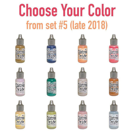 Tim Holtz Distress Oxide Reinkers, Choose Your Color from set #5 (late 2018)-Only One Life Creations