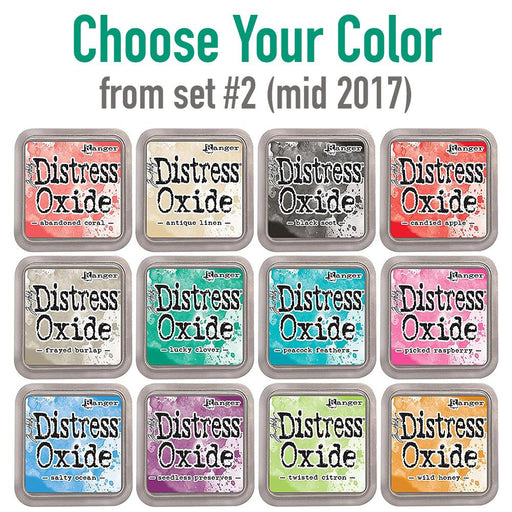Tim Holtz Distress Oxide set #2 (mid 2017) single ink pads, Choose Your Color, by Tim Holtz-Only One Life Creations