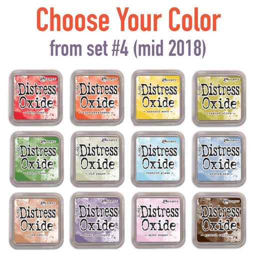 Tim Holtz Distress Oxide set #4 (mid 2018) single ink pads, Choose Your Color, by Tim Holtz-Only One Life Creations