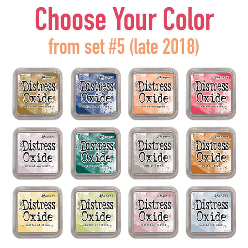 Tim Holtz Distress Oxide set #5 (late 2018) single ink pads, Choose Your Color-Only One Life Creations