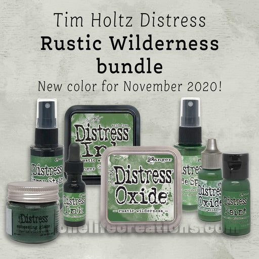 Tim Holtz Distress: Rustic Wilderness, 8 Product Bundle (November 2020)-Only One Life Creations