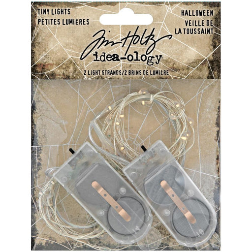 Tim Holtz Idea-Ology Wire Light Strands: Orange & Purple 2/pkg (TH94081)-Only One Life Creations