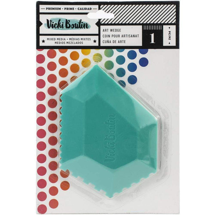 Vicki Boutin Color Kaleidoscope Collection Silicon Art Wedge (346523)-Only One Life Creations