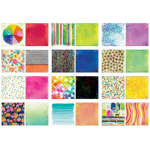 "Vicki Boutin Color Study Collection 12""x12"" Double Sided Paper Pad (VB005678)-Only One Life Creations"