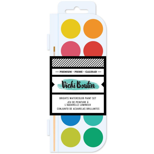 Vicki Boutin Color Study Collection Watercolor Set: Brights (VB007150)-Only One Life Creations