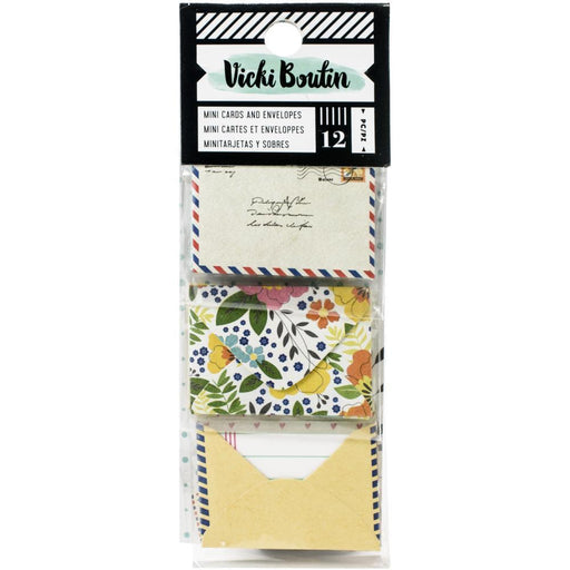 Vicki Boutin Let's Wander Collection Mini Envelopes with Cards (VB355332)-Only One Life Creations
