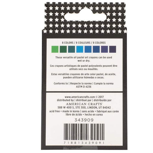 Vicki Boutin Mixed Media Oil Pastel Art Crayons: Set #2 Cool, 8 pkg (343909)-Only One Life Creations