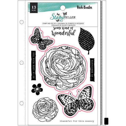 Vicki Boutin Storyteller Clear Stamp: Wonderful (VB001346)-Only One Life Creations