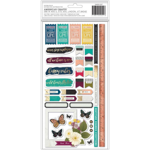 Vicki Boutin Storyteller Thickers Stickers: Words and Phrases 73/Pkg (VB001337)-Only One Life Creations