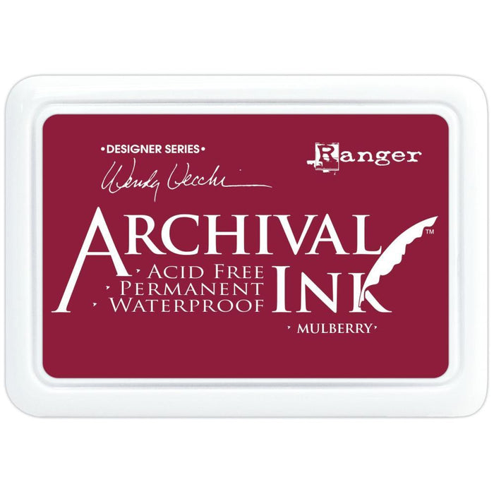 Wendy Vecchi Archival Ink Pads, Choose Your Color, by Ranger-Only One Life Creations