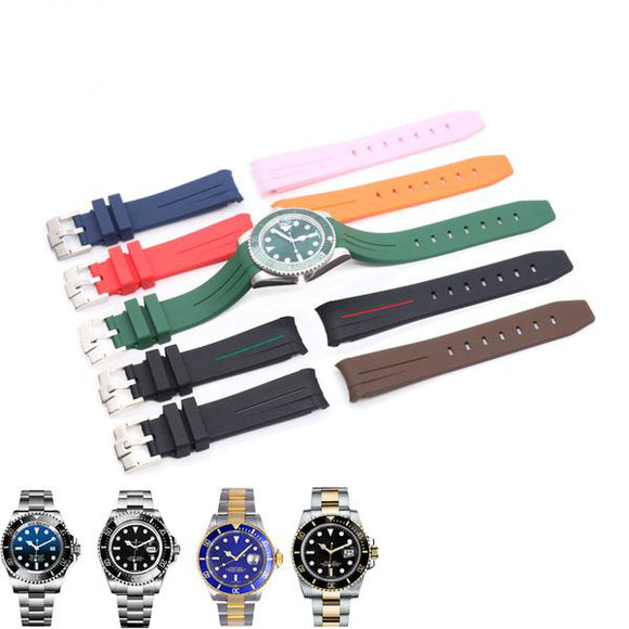 Rolex Submariner Replacement Strap - Silicone Rubber Watch Strap