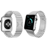 IWATCH STAINLESS STEEL STRAP - 316L STAINLESS STEEL WRIST BELT METAL WATCHBAND & REMOVABLE STRAPS BELT - TimeLabStore