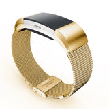 FITBIT CHARGE 2 REPLACEMENT STRAP - Luxury Brand Milanese Loop Stainless Steel Metal Watch Band - TimeLabStore