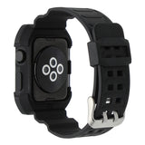 IWATCH REPLACEMENT - TPU Rubber Watchband with Protective Case with Strap - TimeLabStore