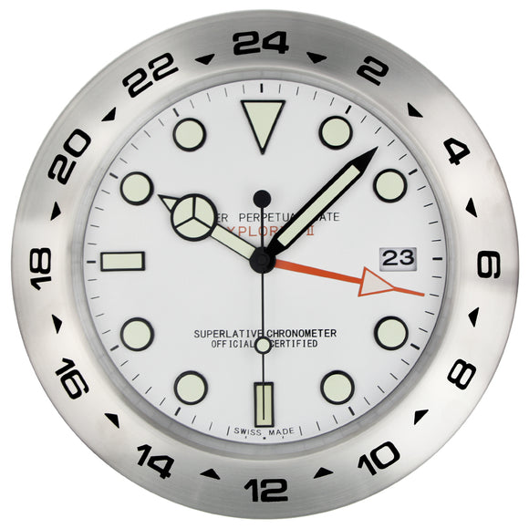 385mm WALL CLOCK WITH NIGHT LIGHTS - TimeLabStore