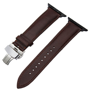 IWATCH REPLACEMENT STRAP - Italian Genuine Leather Watchband - TimeLabStore