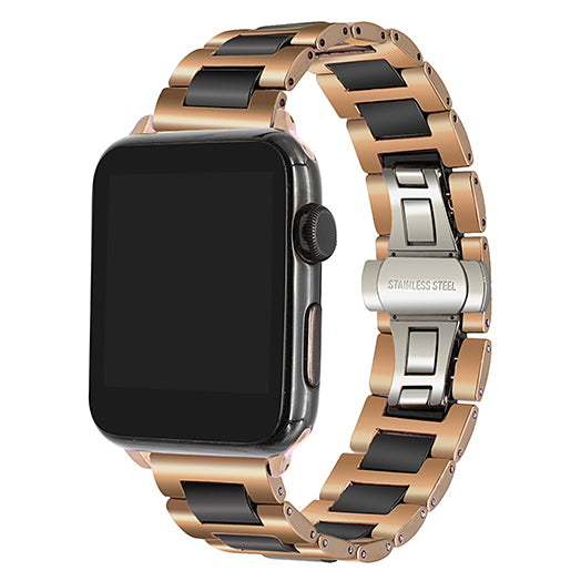 Iwatch Strap - Ceramic + Stainless Steel Watchband - TimeLabStore