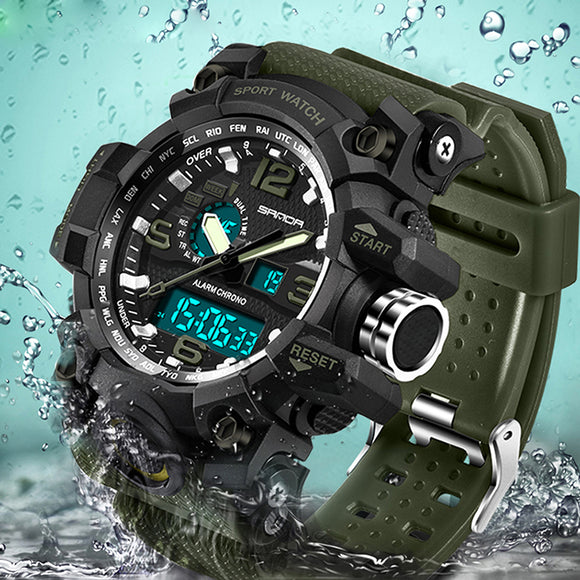 Military Sport Watch Men Top Brand Luxury Famous Electronic LED Digital Wrist Watch - TimeLabStore
