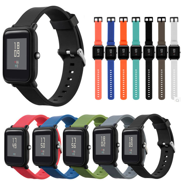 Amazfit Replacement Strap - Silicone Multiple Color Bracelet Watch Band