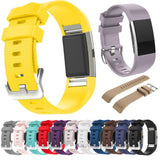 FITBIT CHARGE 2 REPLACEMENT STRAP - Hero Iand Strap Soft Watch strap band Silicone Sport bracelet