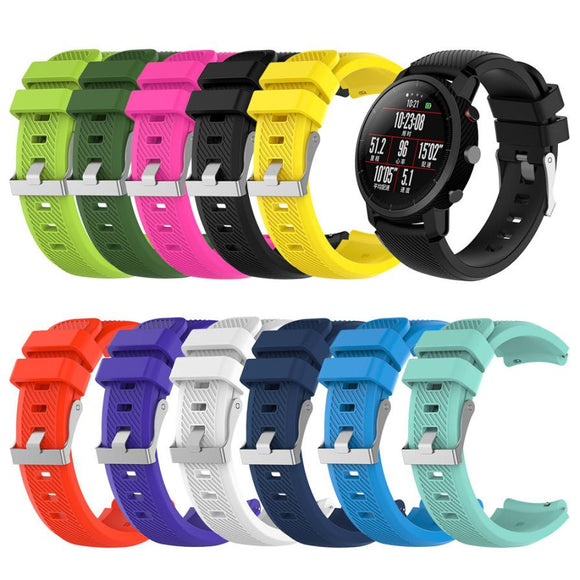 AMAZFIT REPLACEMENT STRAP -Soft Silicagel Sports Watch Band Strap - TimeLabStore