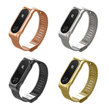 XIAOMI MIBAND 2 REPLACEMENT STRAP - Black Silver Gold Rose Pink - TimeLabStore