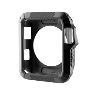 APPLE WATCH CASE - Fall Resistance Soft Silicone Case For Apple Watch