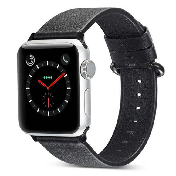 APPLE WATCH REPLACEMENT STRAP - Leather Watchband