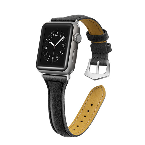 APPLE WATCH REPLACEMENT STRAP - Classic T Type Leather Strap