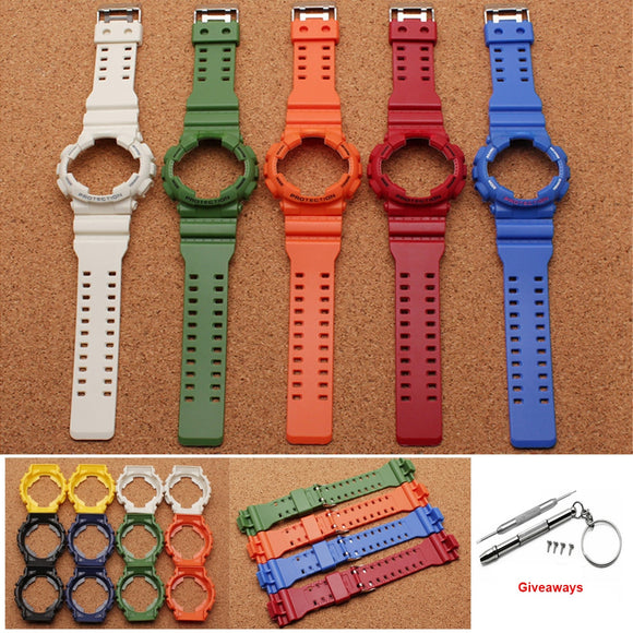 G-SHOCK Replacement Strap - Silicone Rubber Waterproof Watch band Strap Case
