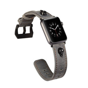 APPLE WATCH REPLACEMENT STRAP - Punk Series Skull Pattern bracelet