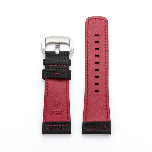 Leather strap watch with accessories men and women pin buckle bracelet substitute seven Friday 28MM