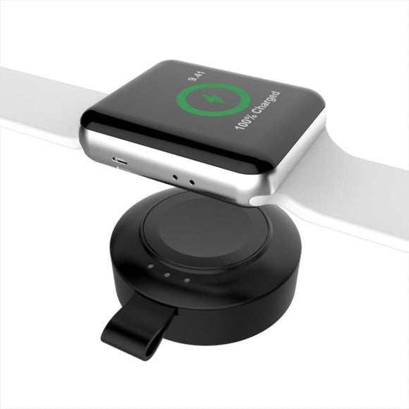 Mini Portable 2 in 1 Wireless Charger For Apple Watch